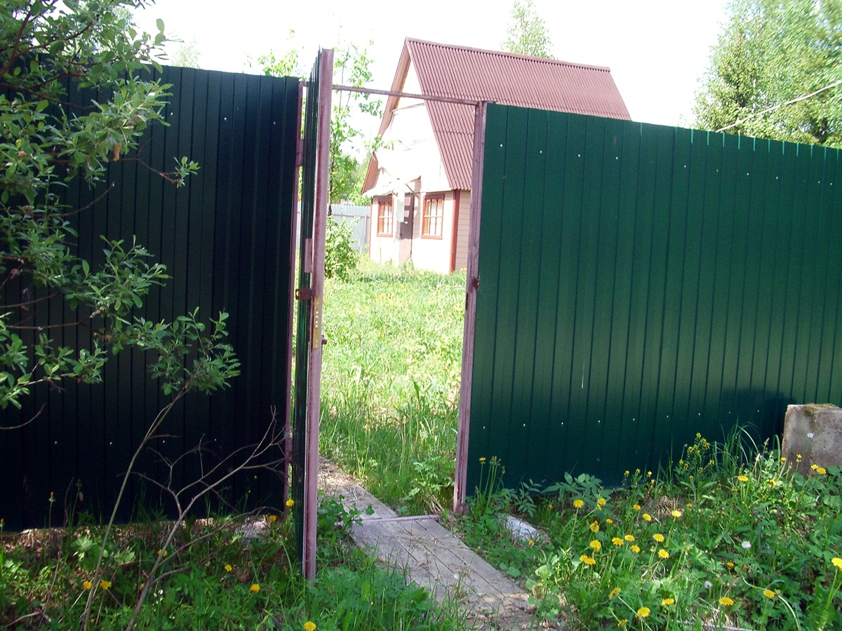 "Дача в ""Воронцово"". Вход во двор."